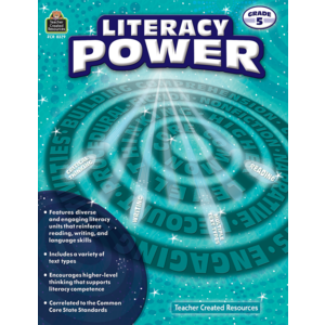TCR8379 Literacy Power Grade 5 Image
