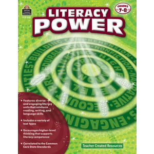 TCR8381 Literacy Power Grade 7-8 Image