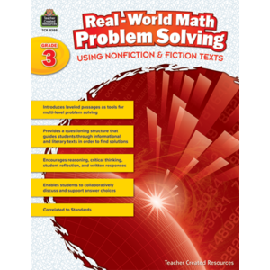 TCR8388 Real-World Math Problem Solving Grade 3 Image