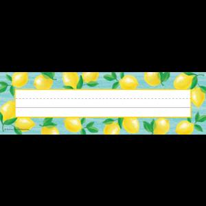 TCR8482 Lemon Zest Flat Name Plates Image