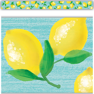 TCR8489 Lemon Zest Straight Border Trim Image