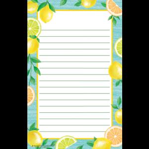TCR8493 Lemon Zest Notepad Image