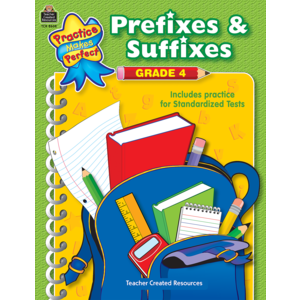 TCR8608 Prefixes & Suffixes Grade 4 Image