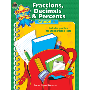 TCR8629 Fractions, Decimals & Percents Grade 4 Image
