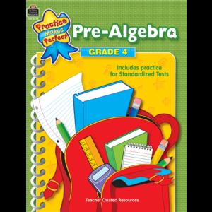 TCR8634 Pre-Algebra Grade 4 Image