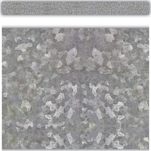 TCR8637 Galvanized Metal Straight Border Trim Image