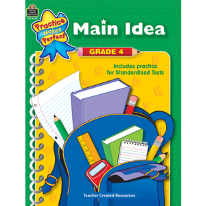 TCR8644 Main Idea Grade 4 Image