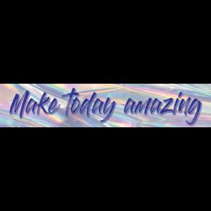 TCR8659 Iridescent Make Today Amazing Banner Image