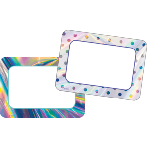TCR8673 Iridescent Name Tags/Labels Image