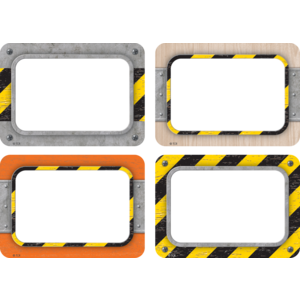 TCR8720 Under Construction Name Tags/Labels - Multi-Pack Image