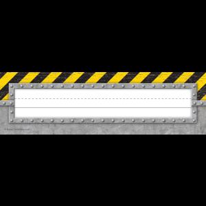 TCR8721 Under Construction Flat Name Plates Image