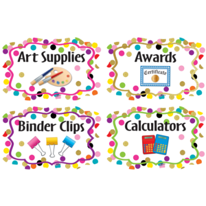 TCR8751 Confetti Supply Labels Image