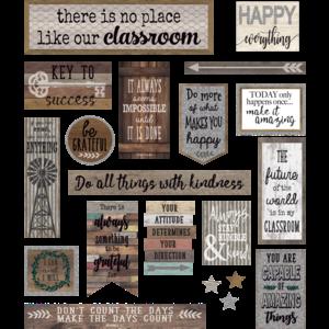 TCR8814 Home Sweet Classroom Mini Bulletin Board Image