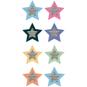TCR8836 Home Sweet Classroom Stars Mini Stickers Image