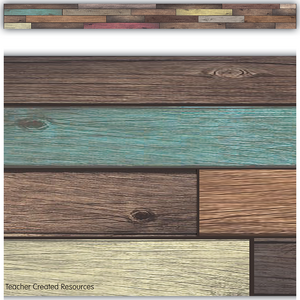 TCR8838 Reclaimed Wood Straight Border Trim Image