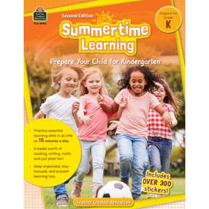 TCR8840 Summertime Learning Grade K Image
