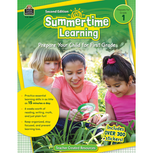 TCR8841 Summertime Learning Grade 1 Image