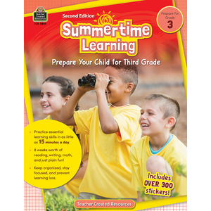 TCR8843 Summertime Learning Grade 3 Image