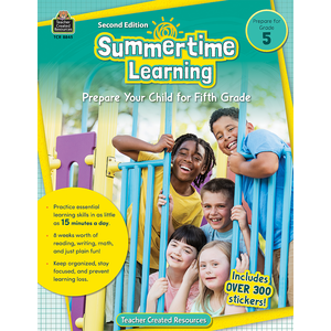 TCR8845 Summertime Learning Grade 5 Image