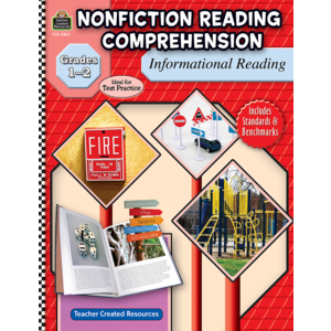 TCR8861 Nonfiction Reading Comprehension: Informational Reading, Grades 1-2 Image