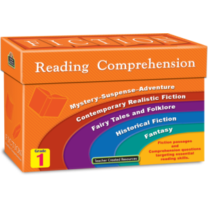 TCR8871 Fiction Reading Comprehension Cards Grade 1 Image