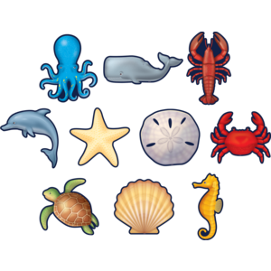 TCR8895 Nautical Sea Life Accents Image