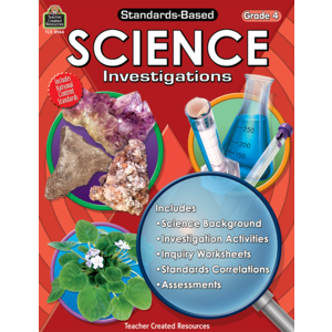 TCR8964 Standards-Based Science Investigations Grade 4 Image