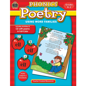 TCR8978 Phonics Poetry Using Word Families  Image