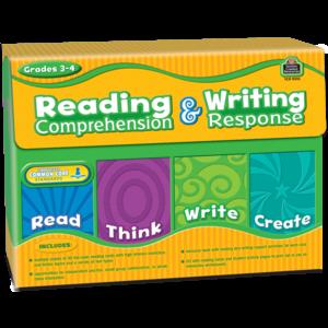 TCR9015 Reading Comprehension & Writing Response Grade 3-4 Image