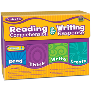 TCR9016 Reading Comprehension & Writing Response Grade 4-5 Image