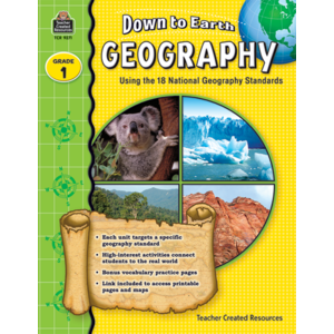 TCR9271 Down to Earth Geography, Grade 1 Image