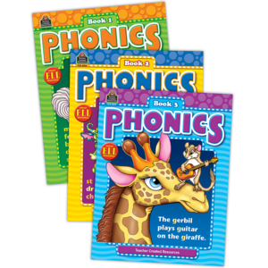 TCR9816 Phonics Set (3 books) Image