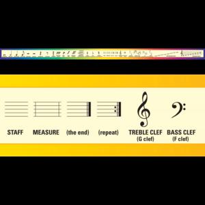 TCRA022 Music Chalkboard Topper                 Image