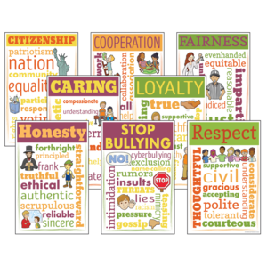 TCRCC3110 Character Education Chatter Charts Image