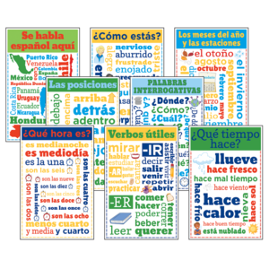 TCRCC3111 Spanish Chatter Charts Image