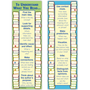 TCRK1200 Reading Comprehension Smart Bookmarks Image