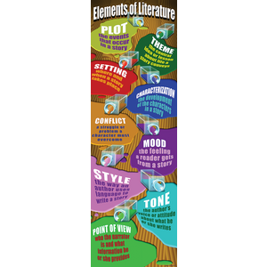 TCRV1658 Elements of Literature Colossal Poster Image