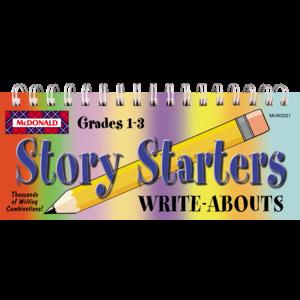 TCRW2021 Story Starters Write-Abouts Grades 1-3 Image