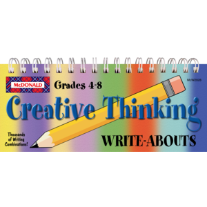 TCRW2028 Creative Thinking Write-Abouts Grades 4-8 Image