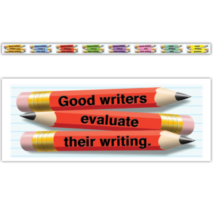 TCRY1548 What Good Writers Do Border Trim Image