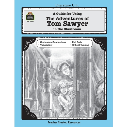 adventure essay sawyer tom The adventures of tom sawyer book report murder, superstition, religion, manipulation, racism: themes that hardly seem appropriate to find in a children's book.