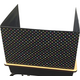 Chalkboard Brights Classroom Privacy Screen Alternate Image A