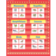 Red Marquee 10 Pocket Chart Alternate Image A