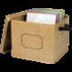 Burlap Storage Box Alternate Image A