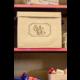 Burlap Storage Box Alternate Image B