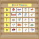 Burlap 7 Pocket Chart Alternate Image A