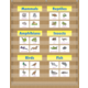 Burlap 10 Pocket Chart Alternate Image A