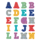 Marquee Alphabet Stickers Alternate Image A