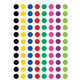 Colorful Circles Mini Stickers Alternate Image A