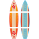 Giant Surfboards Bulletin Board Display Set Alternate Image A